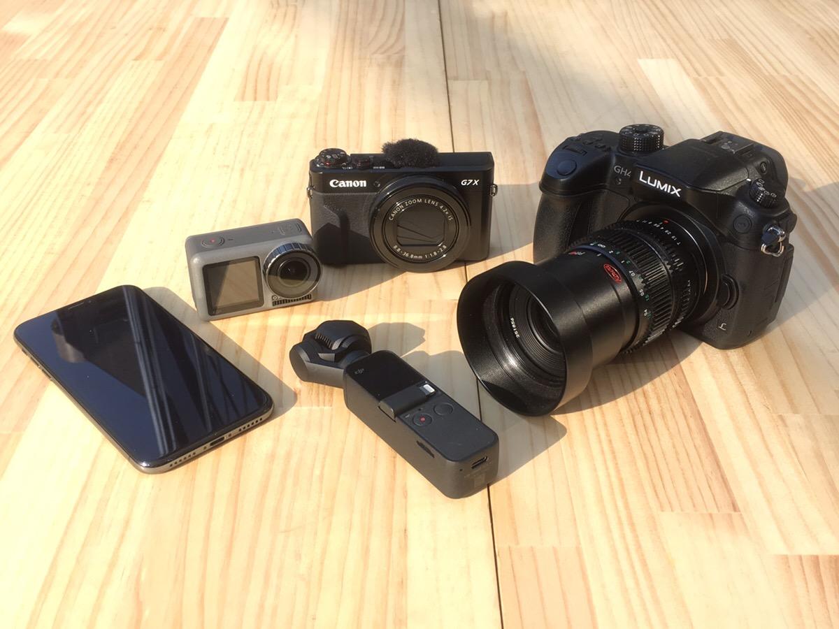 動画初心者が買うべきおすすめカメラまとめ トップイメージ画像
