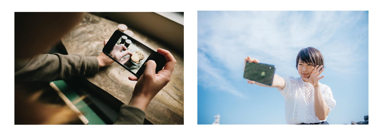 動画初心者が買うべきおすすめカメラのスマホ撮影のイメージ画像