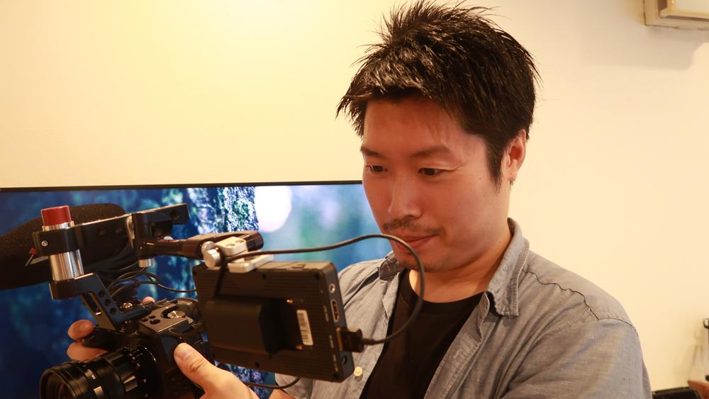 iPhone動画撮影のテクニック 人物撮影のサイズパターンその4_アップショット