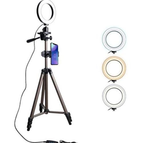 iPhone動画撮影のテクニック アイテム    LEDリングライト