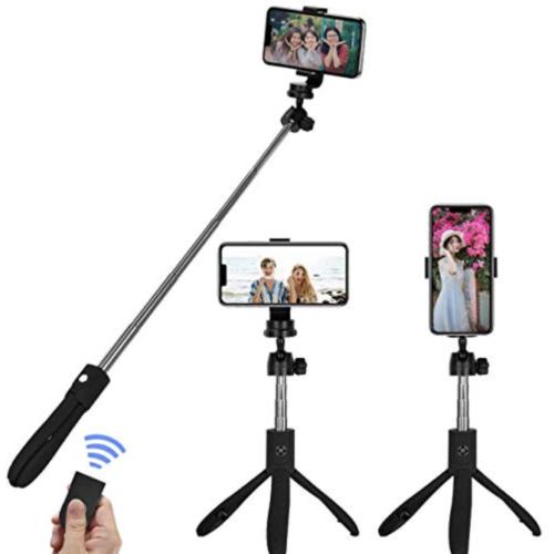 iPhone動画撮影のテクニック アイテム  Amurgo 自撮り棒